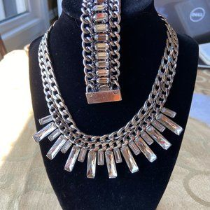 GORGEOUS KC STATEMENT NECKLACE & BRACELET